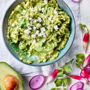 Goat Cheese & Chive Guacamole