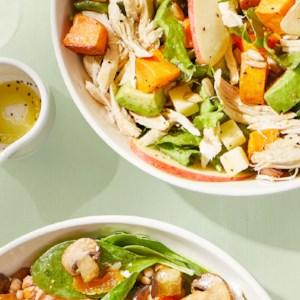 Chopped Chicken & Sweet Potato Salad