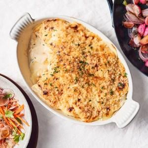 Radish & Potato Gratin
