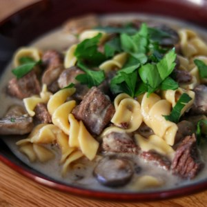 Beef Stroganoff for Instant Pot(R) Recipe and Video - An electric pressure cooker (such as Instant Pot(R)) makes it easy to get fork-tender beef in this stroganoff recipe served with egg noodles.