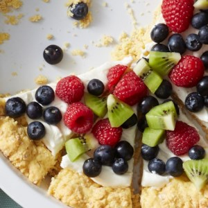 Fresh Berries & Kiwi Icebox Pies