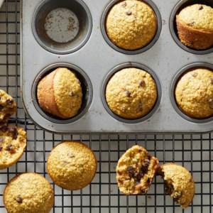 Flourless Blender Zucchini Muffins