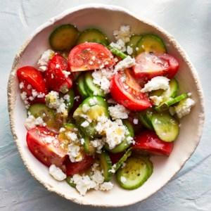 Cucumber, Tomato & Feta Salad
