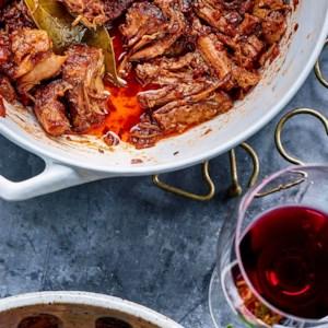 Red Wine-Braised Pork