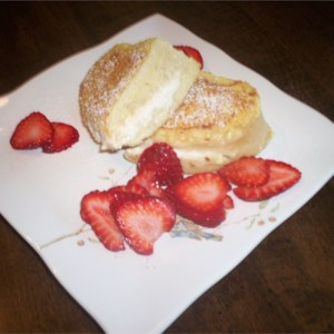 Madisons angel food cake french toast recipe allrecipes a surprise inside french toast forumfinder Image collections