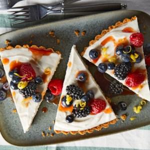 No-Bake Greek Yogurt Cheesecake