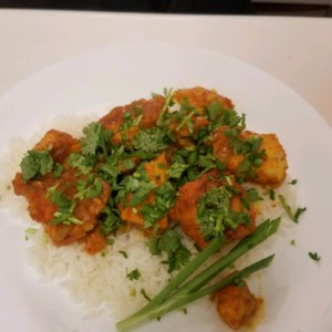 Tamarind Sauce Fish Curry