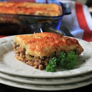 Healthy Shepherd's Pie with Cauliflower Mash