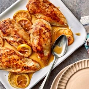 Baked Lemon-Pepper Chicken