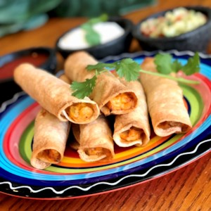 Air Fryer Chicken Taquitos Recipe - Air-fried taquitos are quick and easy to make at home and healthier than deep-fried store-bought ones.
