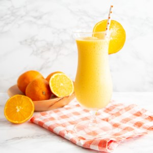 Whipped Frozen Creamsicle