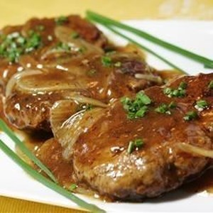 Hamburger Steak With Onions And Gravy Recipe Video