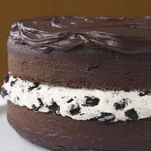 Astounding Giant Oreo Cookie Cake Recipe Allrecipes Com Funny Birthday Cards Online Sheoxdamsfinfo