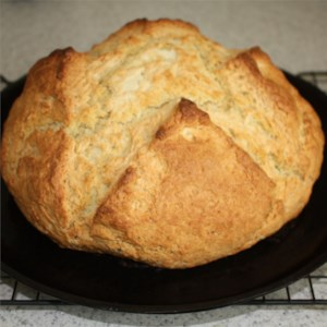 Amazingly Easy Irish Soda Bread Recipe and Video - The batter for this unadulterated soda bread features buttermilk for a special richness.