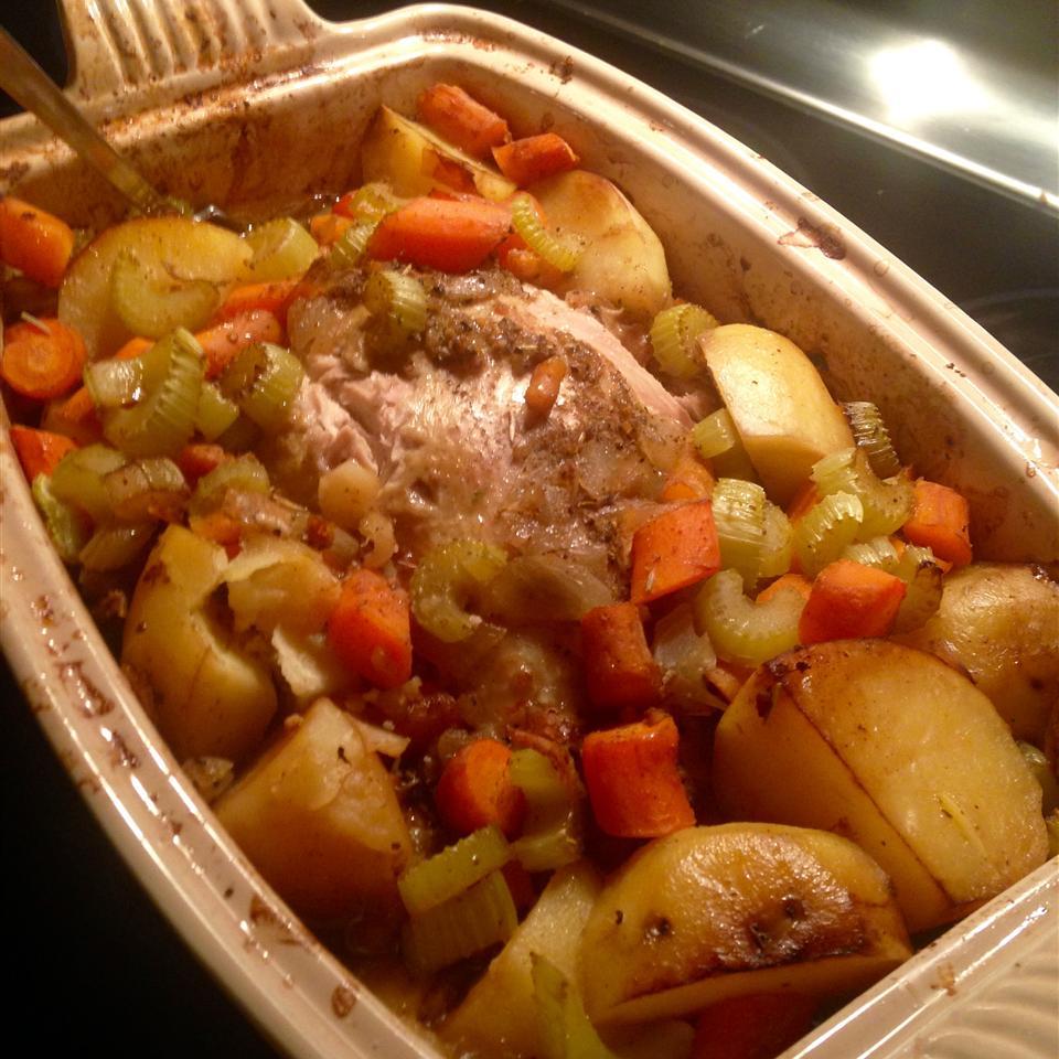 Roasted Vegetable Chicken Michele Desmarais Gresh