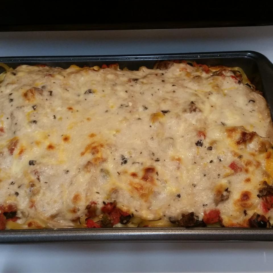 Baked Fettuccine Lasagna dtt4me