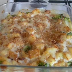 Broccoli Potato Bake nad