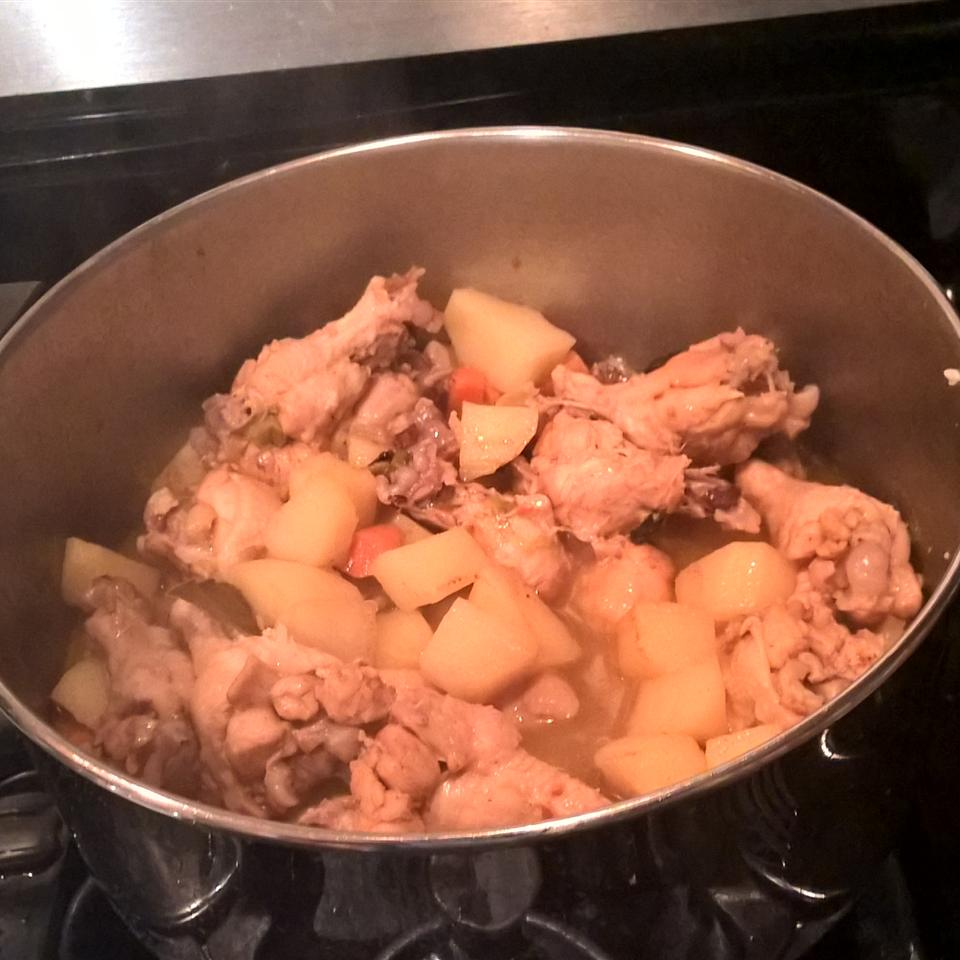 Bahamian Chicken Souse Andrew