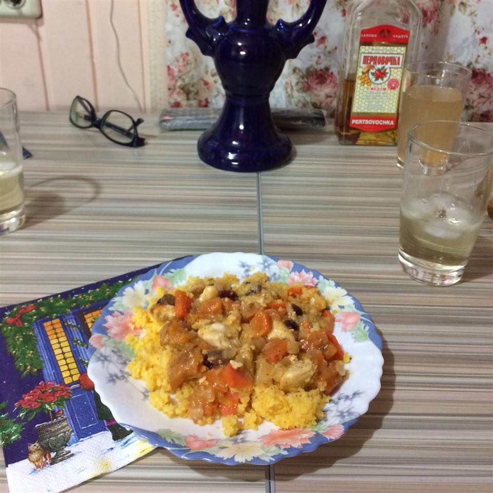 Chicken Tagine with Couscous IGumanoid