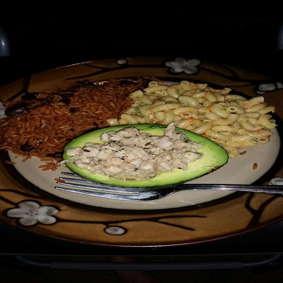 Mexi-Chicken Avocado Cups Javier Serrano