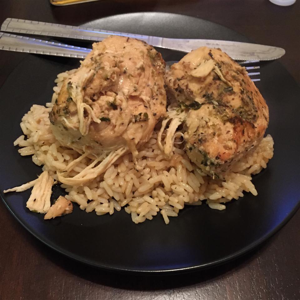 Slow Cooker Lemon Garlic Chicken II Abel Cabrera