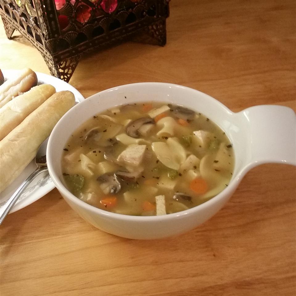 Sarah's Tofu Noodle Soup