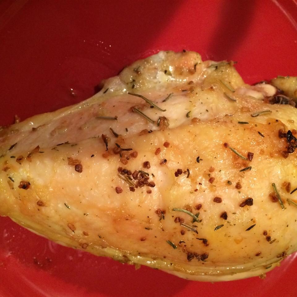 Baked Split Chicken Breast