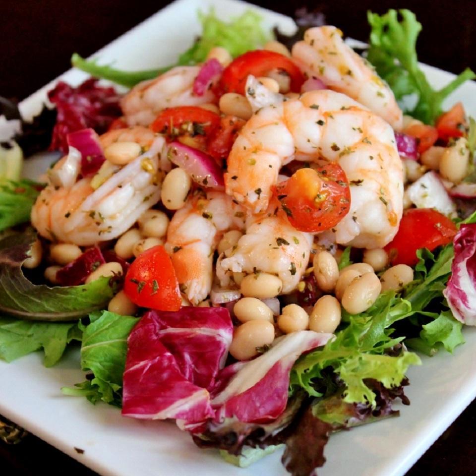 Shrimp and White Bean Salad_image