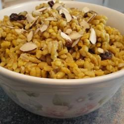 Indian Curried Barley Pilaf Tracy X