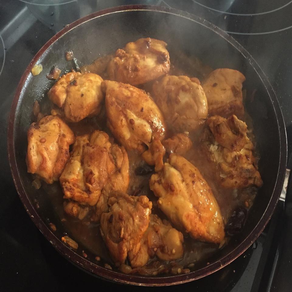 "Indian-Style ""Chettinad"" Chicken"