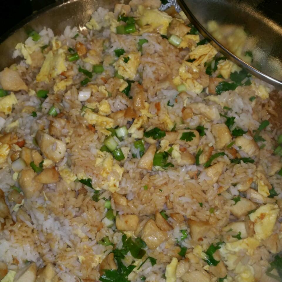 April's Chicken Fried Rice