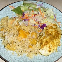Curried Chicken with Mango Rice LINDA W.