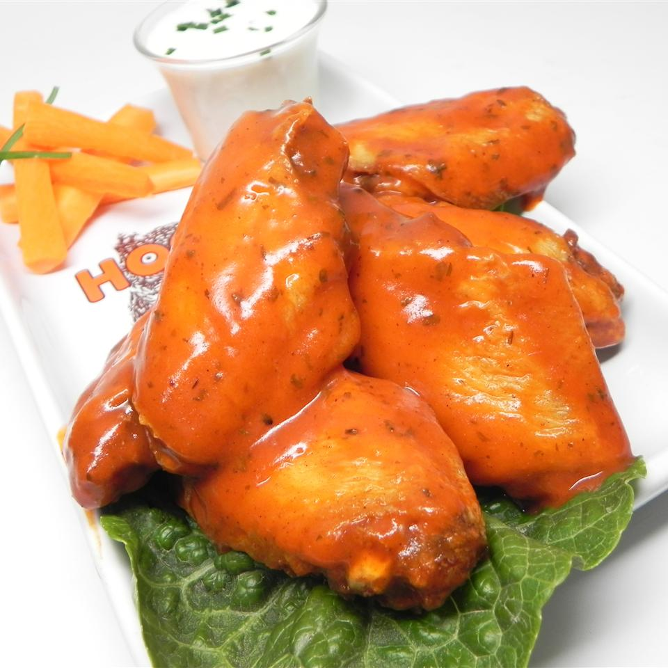 Buffalo-Style Chicken Wings kocyandia