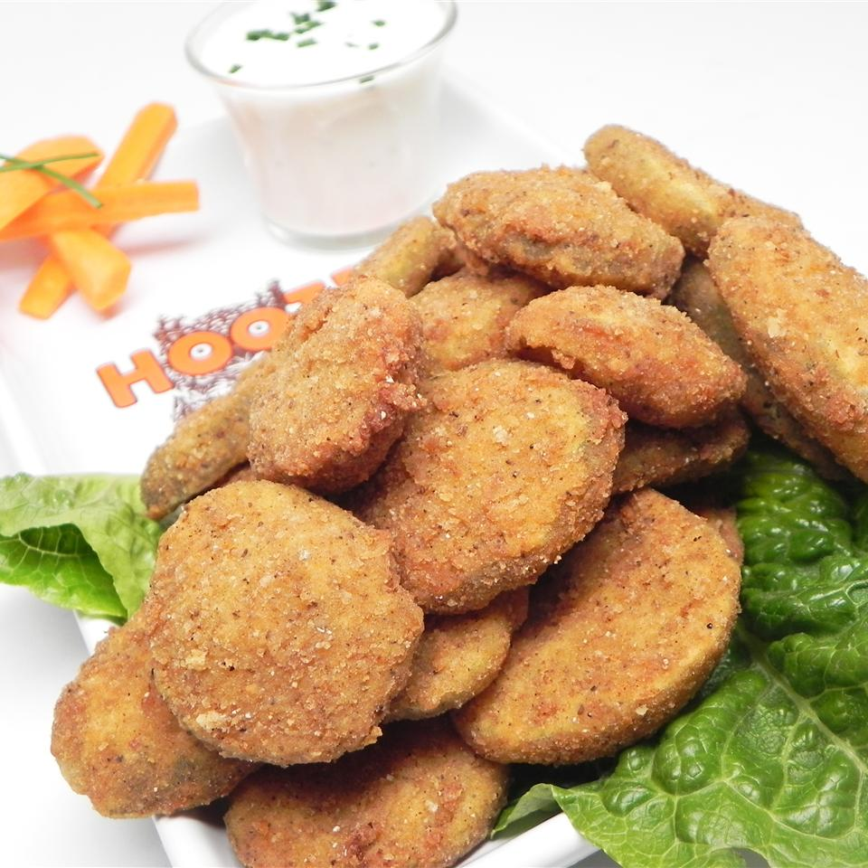 Incredible Edible Fried Pickles