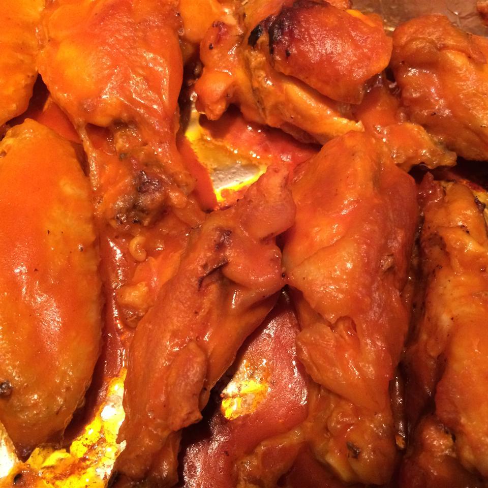 Baked Blazing Hot Wings