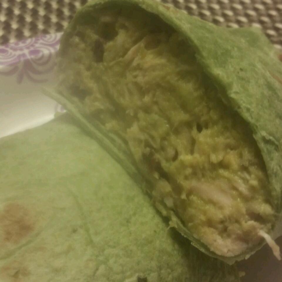 Basil-Avocado Chicken Salad Wraps Chino's Girl