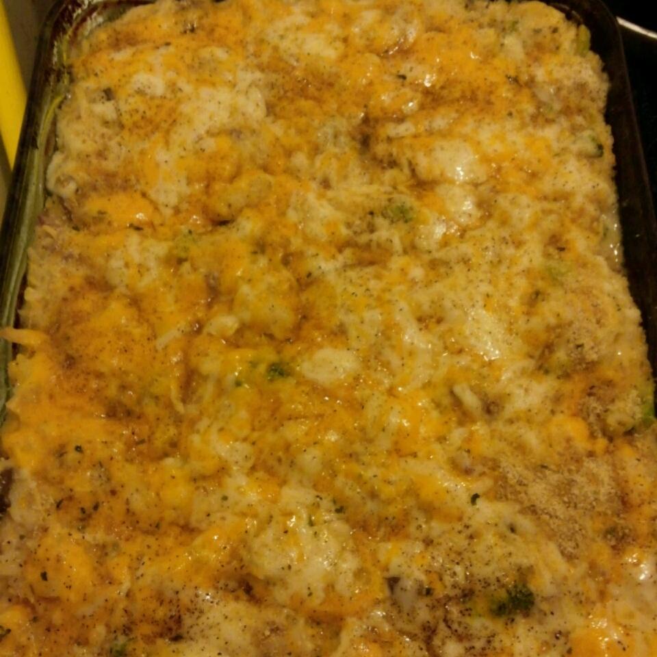 Broccoli, Rice, Cheese, and Chicken Casserole dcarnero