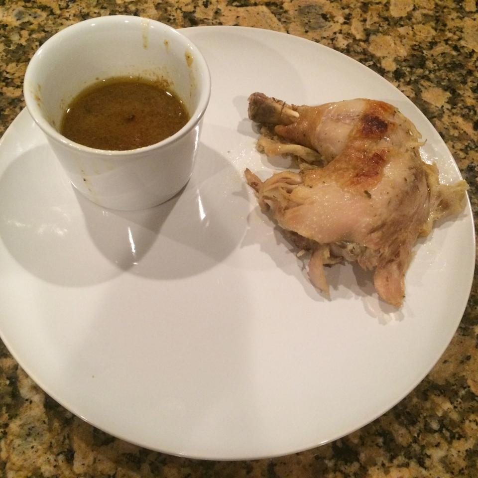 Olive Oil Pressure-Cooked Whole Roasted Chicken