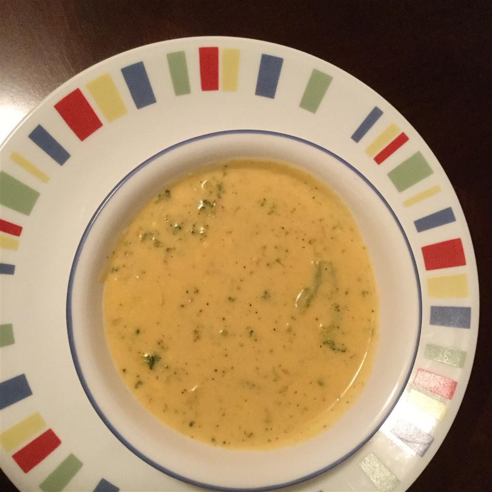 Cheese Soup with Broccoli Lela Purvis