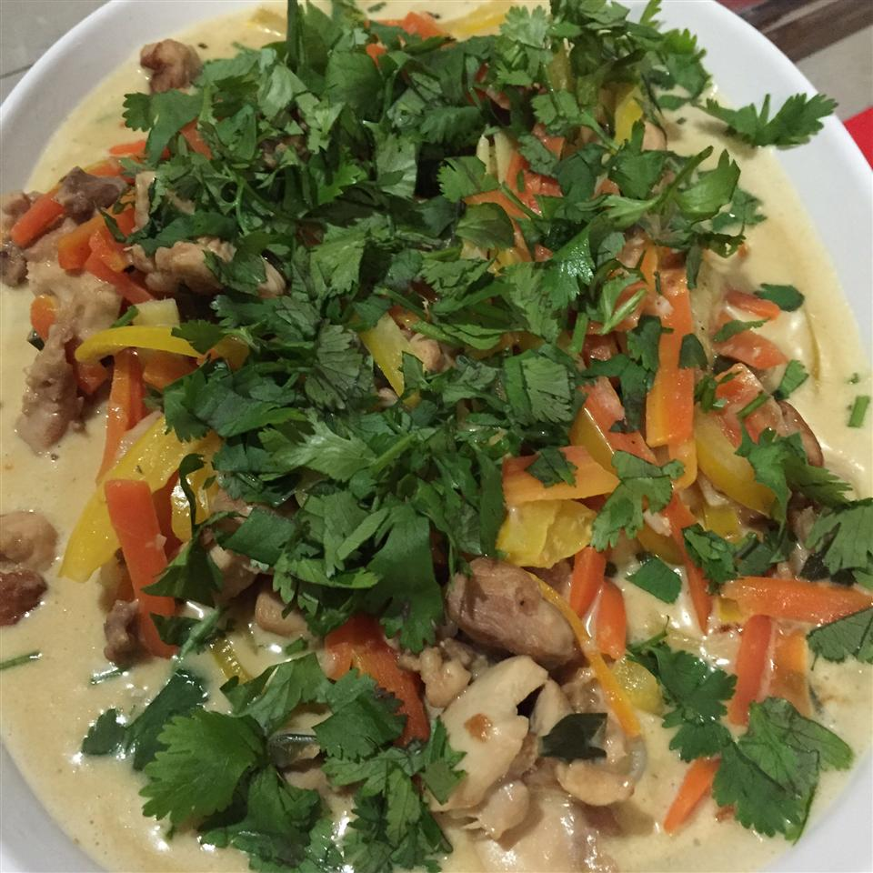 Thai Green Curry Chicken Ange
