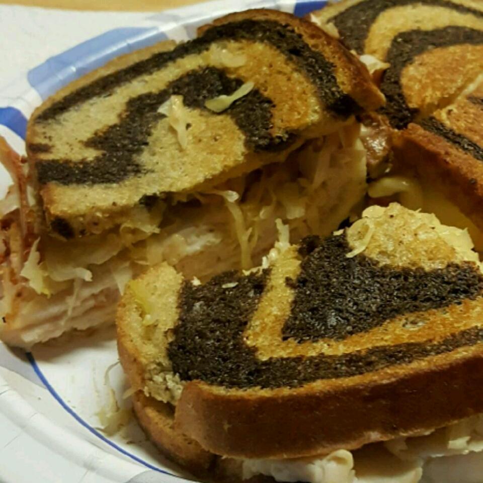 Grilled Turkey Reuben Sandwiches