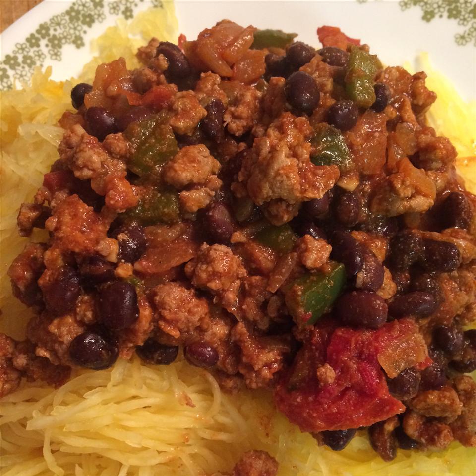 Mexican Spaghetti Squash Stir Fry