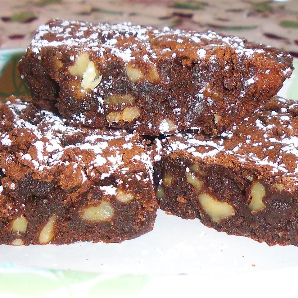 Fudge Walnut Brownies image