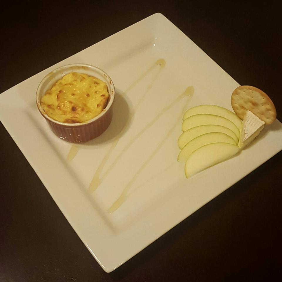Apple and Cheddar Cheese Souffles KellyDB