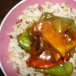 Orange Beef-Style Tofu Stir-Fry