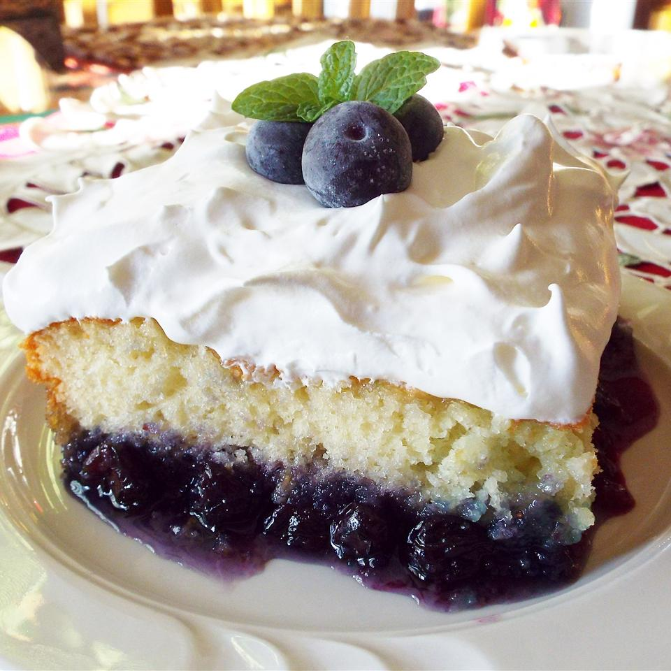 Blueberry Bottom Cake Recipe