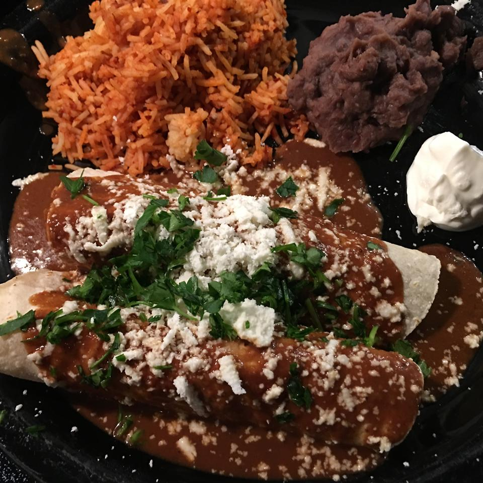 Chicken Enchiladas With Mole Sauce Allrecipes