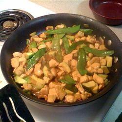 Avocado Chicken Stir-Fry lizziejean@gmail.com