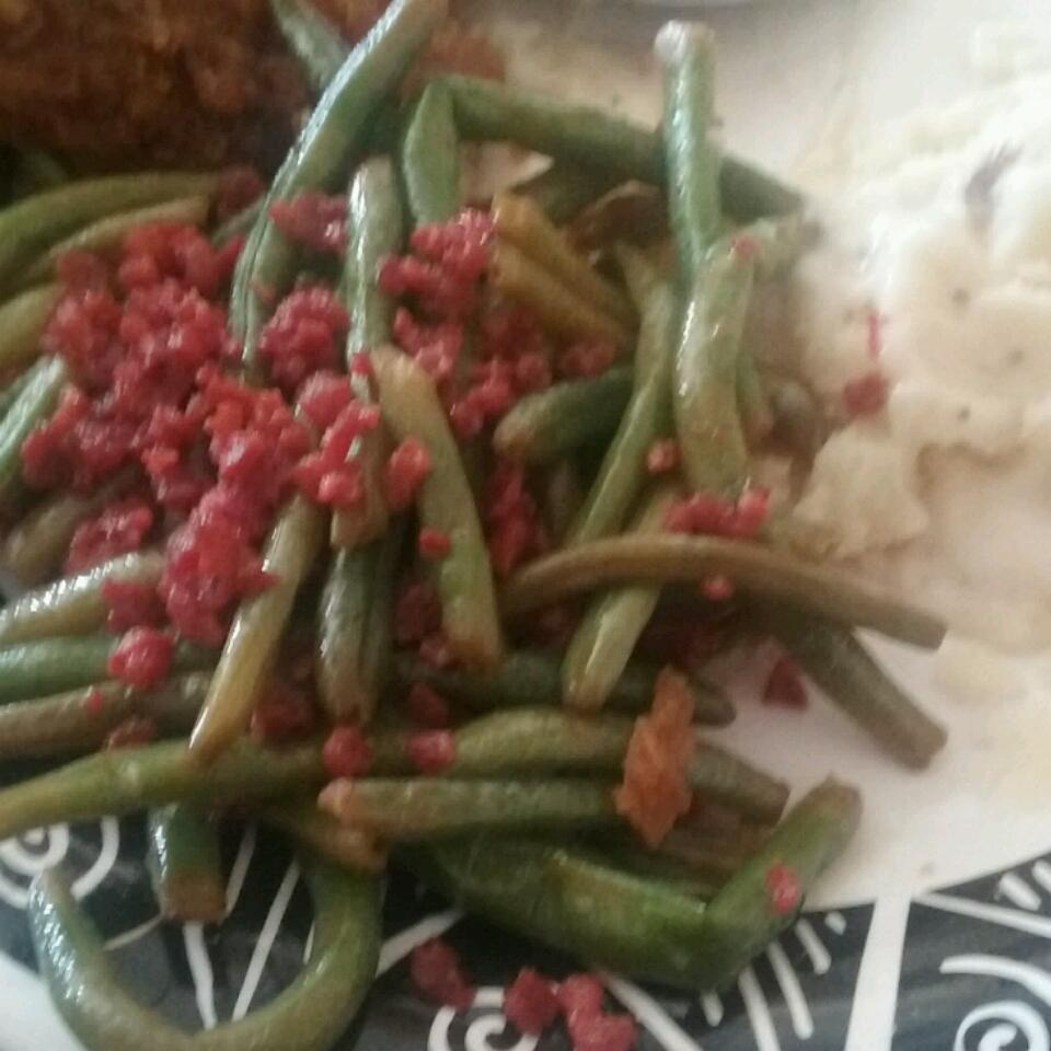 Citrus-Bacon Green Beans cncaswell