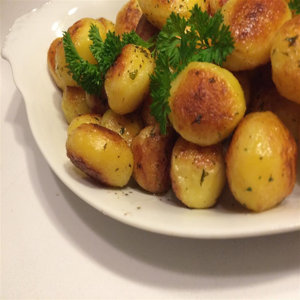 Crispy Baby Potatoes